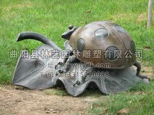 铜雕动物1017