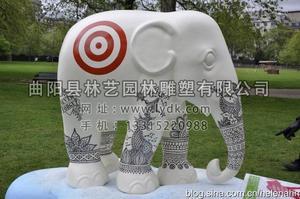彩绘大象05
