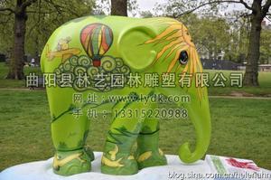 彩绘大象03