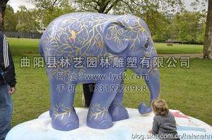 彩绘大象02
