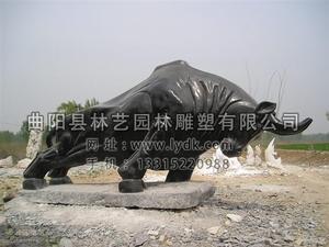 铜雕动物1001