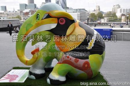 彩绘大象01