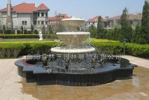 石雕喷泉 PQ--1009
