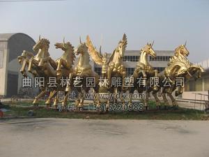 铜雕动物1013