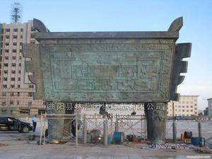 铜雕景观1001