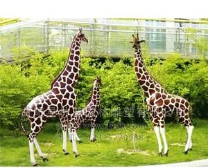 玻璃钢雕塑-长颈鹿