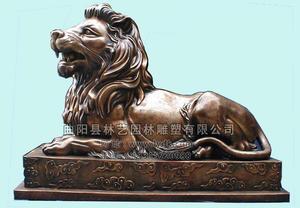 铜雕动物1010