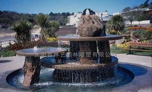 石雕喷泉 PQ--1007