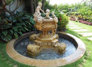 石雕喷泉 PQ--1013