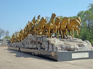 铜雕动物1004