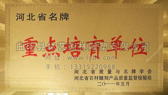 河北省名牌