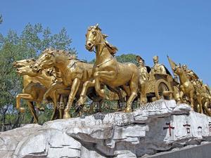 铜雕动物1002
