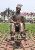 铜雕人物 1003
