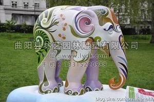 彩绘大象04
