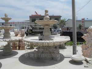 石雕喷泉 PQ-1001