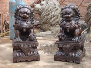 铜雕动物1012