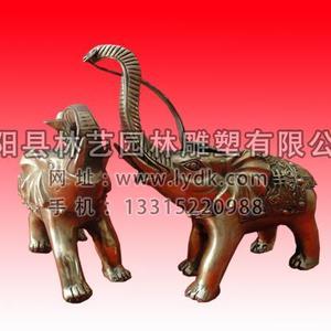 铜雕动物1022
