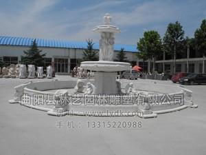 石雕喷泉 PQ-1006