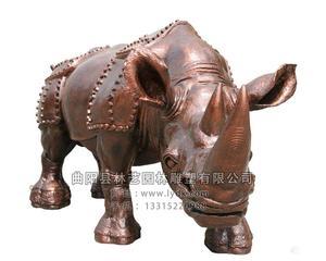 铜雕动物1020