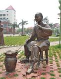 铜雕人物 1015