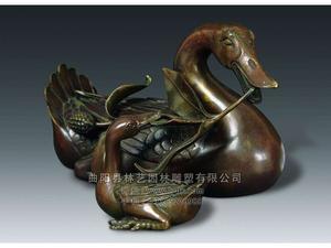 铜雕动物1019