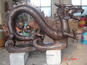铜雕动物1007