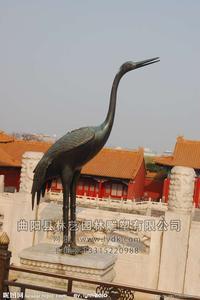 铜雕动物1018