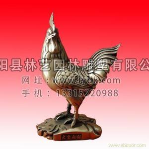 铜雕动物1016