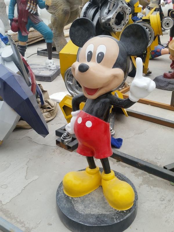 园林雕塑卡通米老鼠