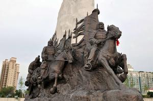 铜雕景观1007