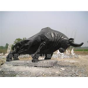铜雕动物-牛-101
