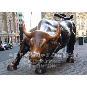 铜雕动物-牛-102
